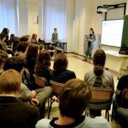 Al Liceo Prati con gli studenti per scoprire il mondo della cooperazione