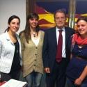 insieme ad alcuni giovani dei licei della città con Romano Prodi per conoscere la politica internazionale a Bologna